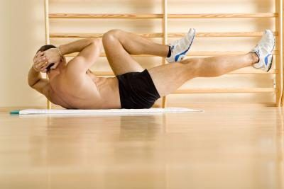 blog picture of man doing crunches