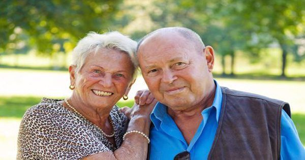 blog picture of elderly couple posing for picture
