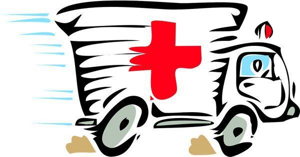 blog illustration of ambulance racing to destination