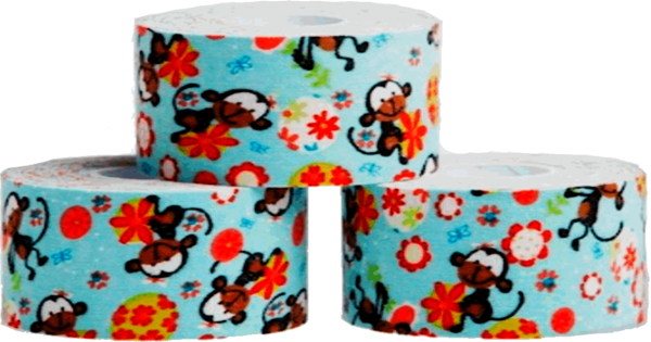 blog picture of kinesiology tape for kids