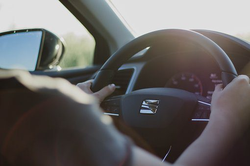 blog picture of someone driving