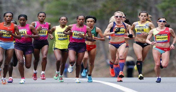 blog picture of women running in marathon