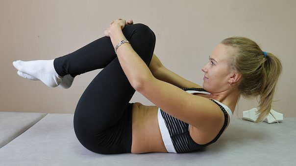 blog picture of lady doing exercise