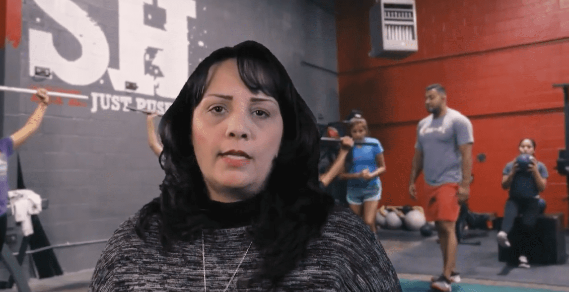 volleyball coach tracy lutich gives testimonial about push as rx