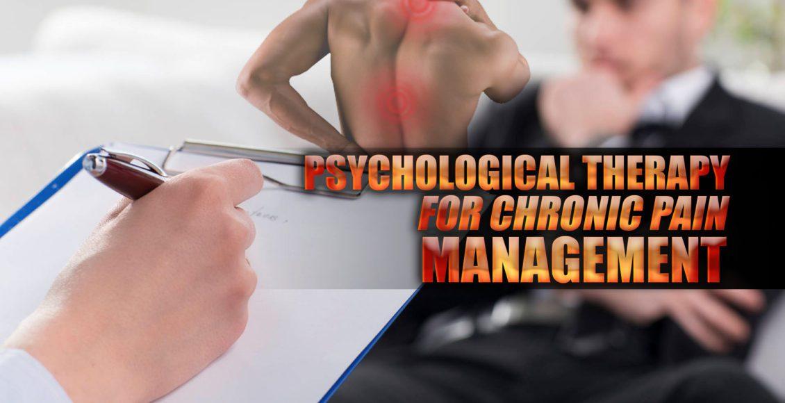 Imagen de un paciente que recibe terapia psicológica para el tratamiento del dolor crónico.