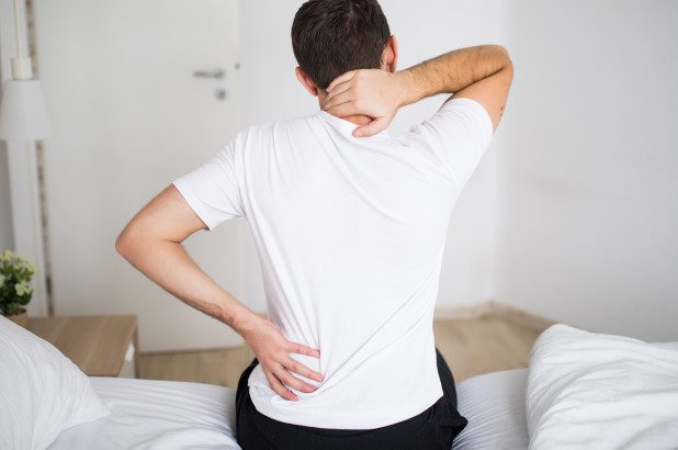 back pain overview cover image.