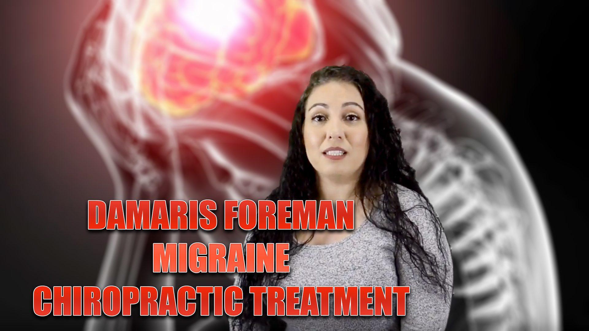 migraine treatment chiropractic el paso tx.