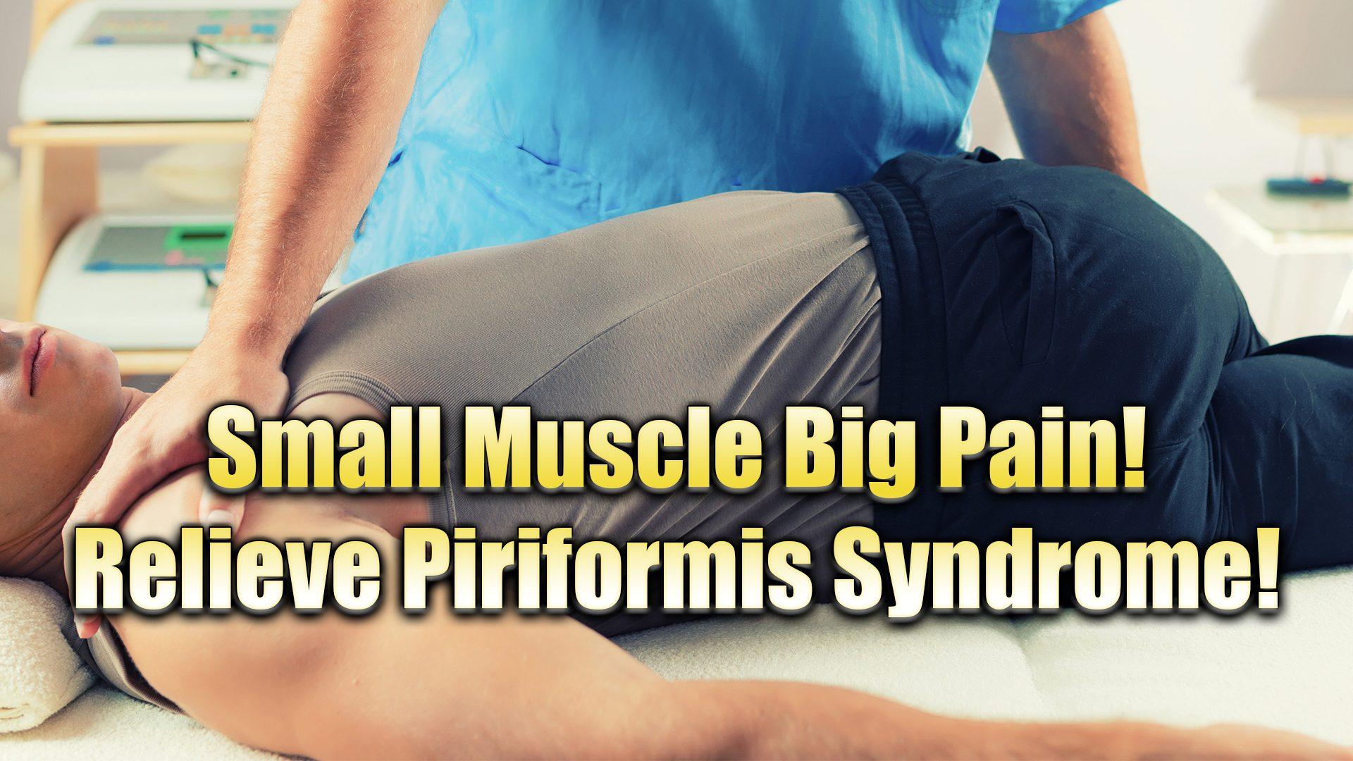pequeño músculo piriforme síndrome el paso tx.