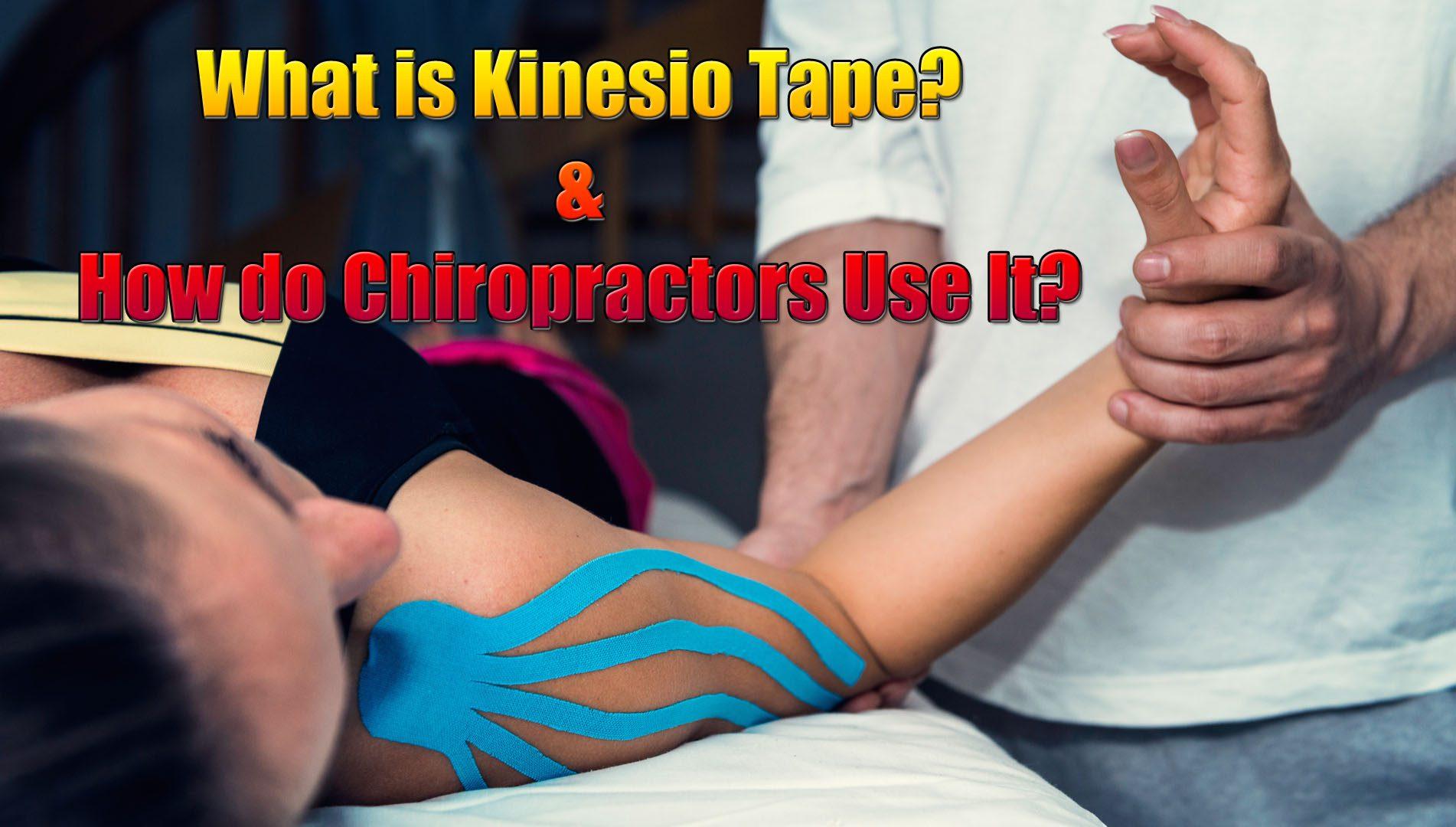 kinesio tape ways of usage el paso tx.