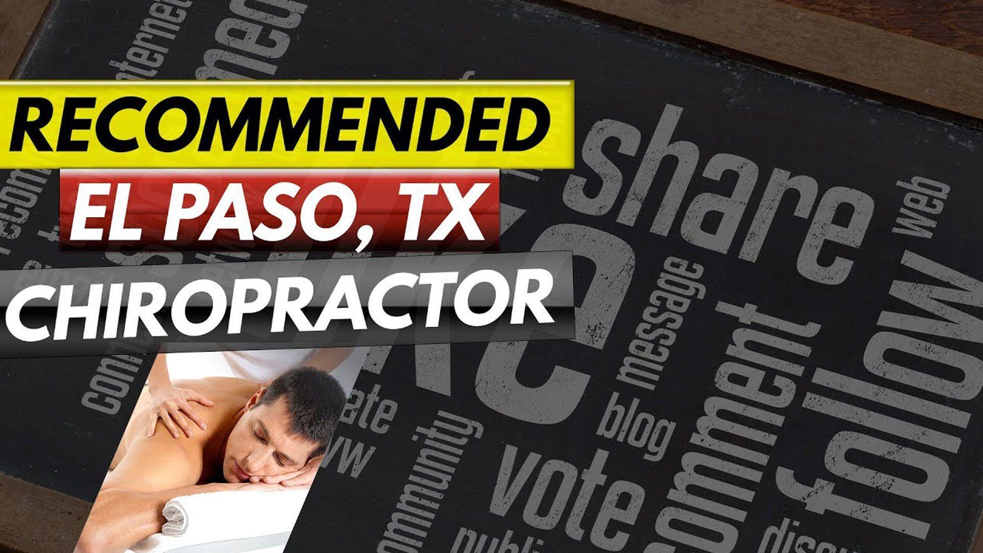 recomienda el paso tx. quiropráctico