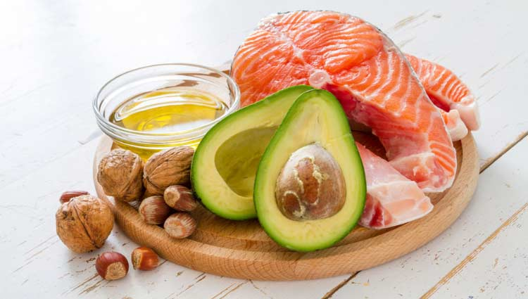 Image showing various food groups from the ketogenic diet.