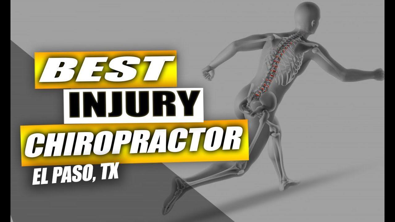 Mejor lesión quiropráctico el paso tx.
