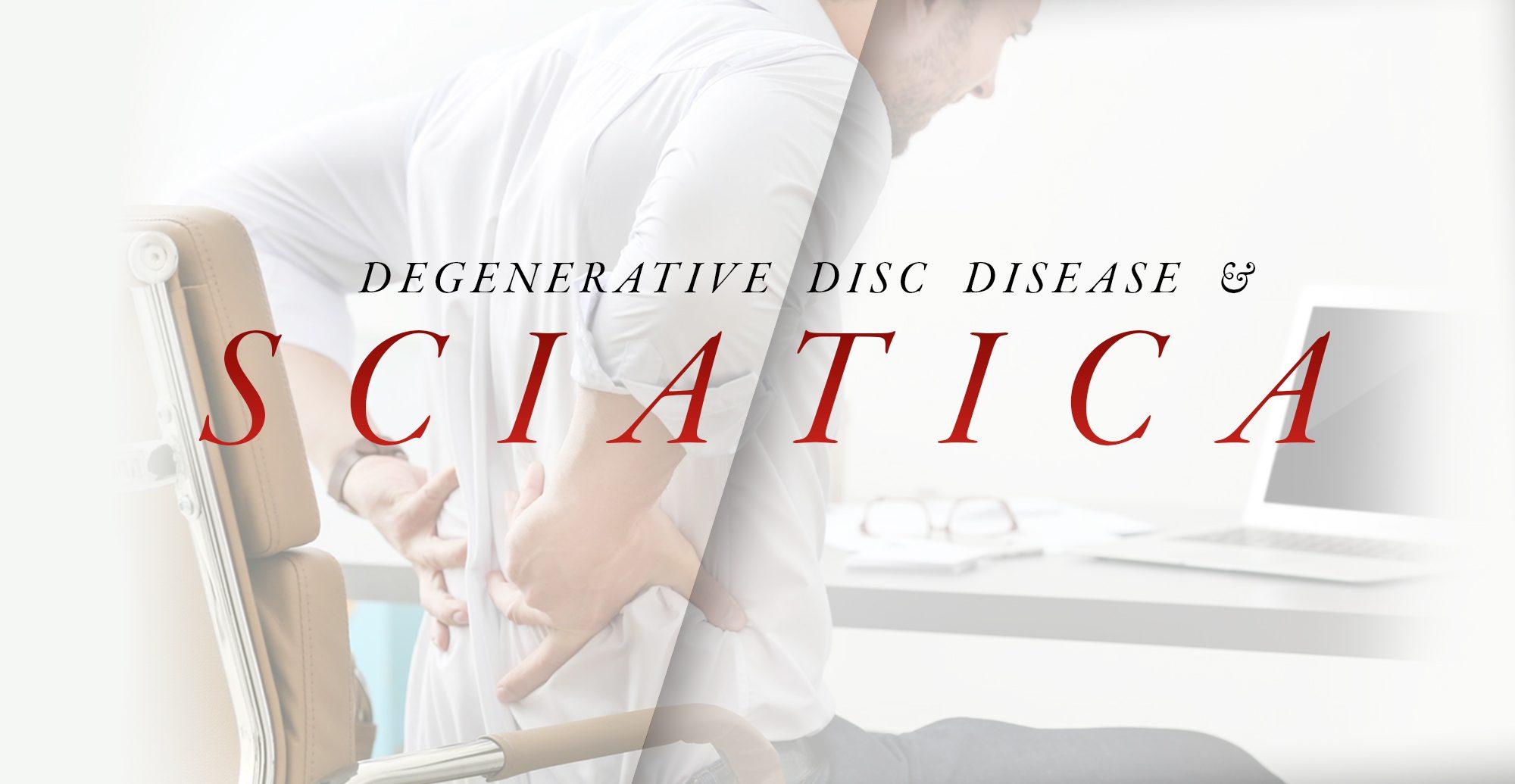 Enfermedad degenerativa del disco y ciática | El Paso, TX Quiropráctico