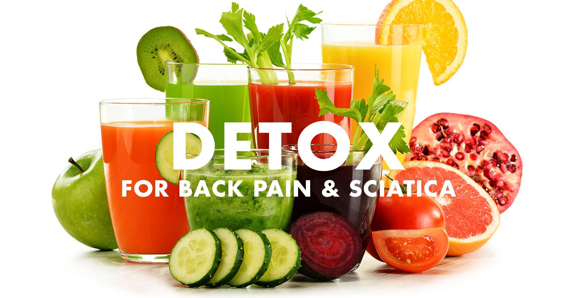 Detox for Back Pain and Sciatica | El Paso, TX Chiropractor