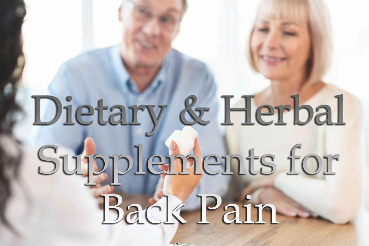 11860 Vista Del Sol, Ste. 128 Dietary and Herbal Supplements for Back Pain El Paso, Texas