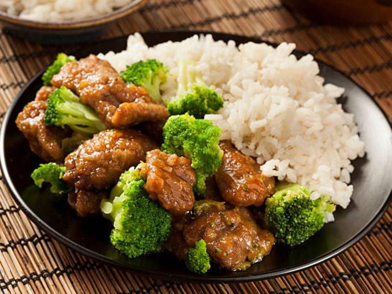 Beef and Broccoli Sheet Pan with Cauliflower Rice