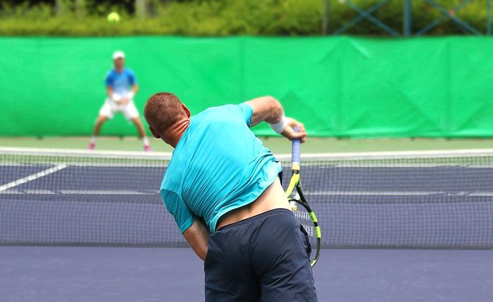 Playing Tennis With Back Pain