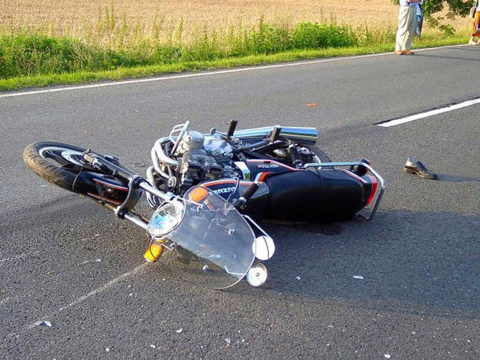 Motorcyclist Common Accident, Crash Injuries