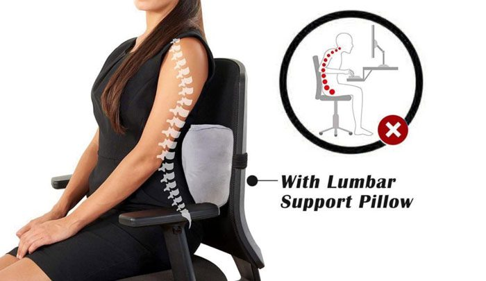 Low Back Support Pillow
